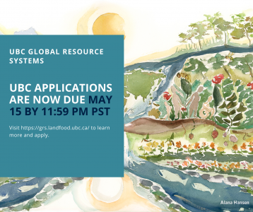 UBC Applications Now Due May 15th!